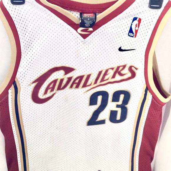 Nike Other - Nike Kids sleeveless CAVs Jersey #23 L James
